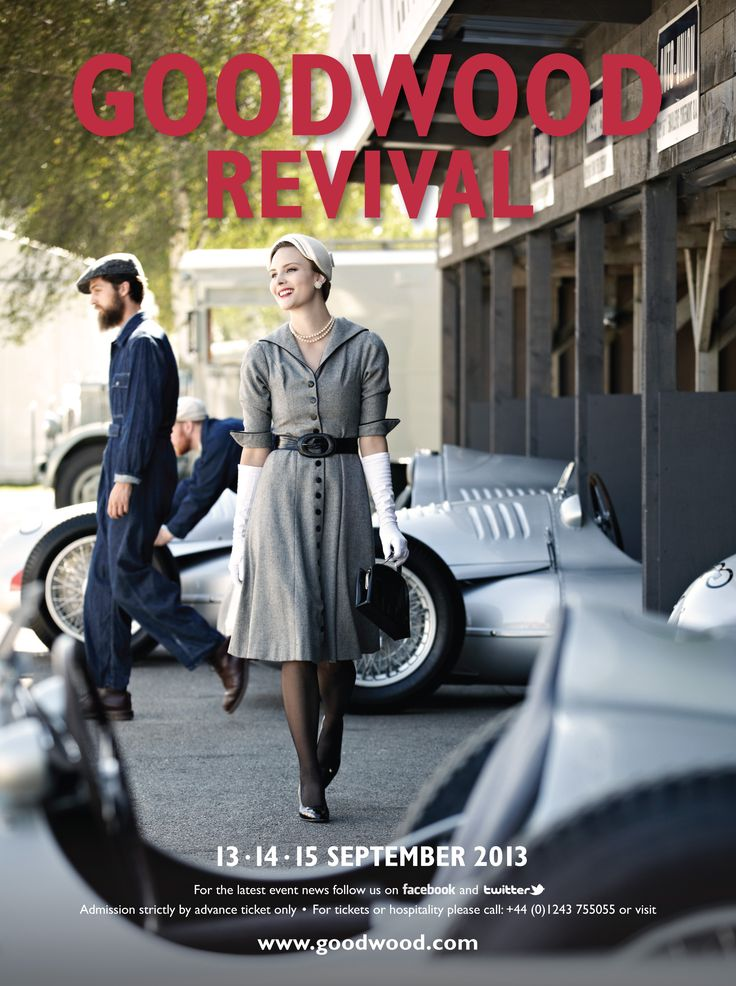 The Goodwood Revival 2013 - Can't wait to welcome all of our guests and diners that are attending this fabulous festival!