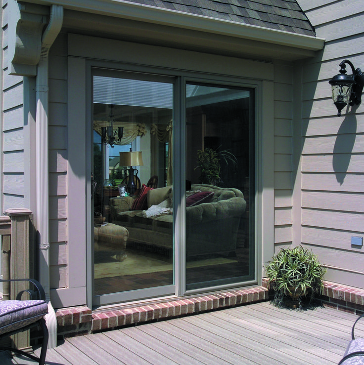 Our beautifully crafted French Sliding Patio Door masterfully combines traditional french door elegance with the space-saving convenience of a sliding patio ... & 7 best Sliding Patio Doors images on Pinterest | French doors ...