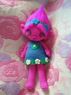 Princess Poppy | The Duchess' Hands, #crochet, free pattern, amigurumi, doll, fairy, stuffed toy, #haken, gratis patroon (Engels), pop, elfje, knuffel, speelgoed, #haakpatroon