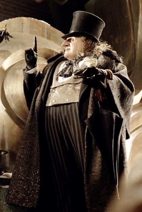 "Danny DeVito in ""Batman Returns"" (1992). DIRECTOR: Tim Burton."