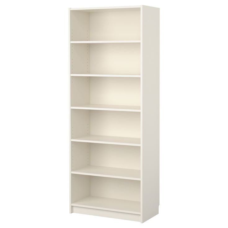 BILLY Bookcase - white - IKEA Or perhaps these? They are nearly 16