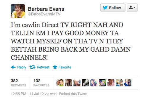 #TeenMom mama Barb Evans means business you guys.: Favorite Prints, Sandra Shinn, Barbed Evans, Funny Shit, Bans Mtv, Teenmom Mama, Mama Barbed, Hahahah Sandra, Remember Bab