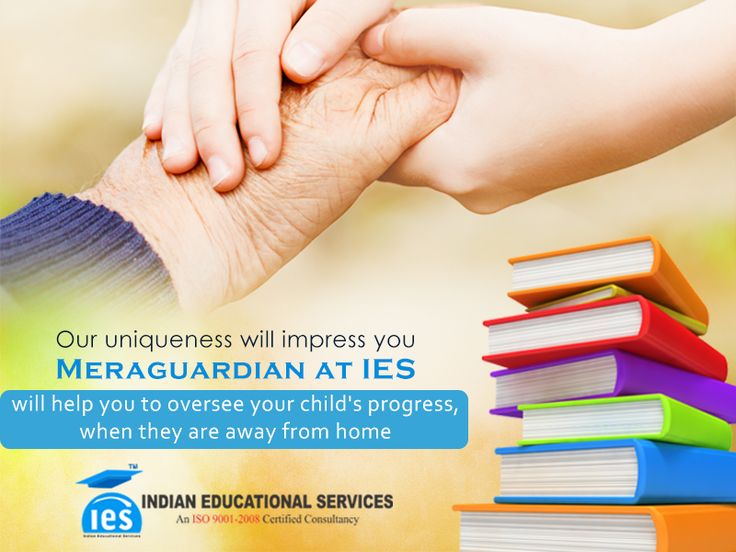 IES will help you to oversee your child's progress, when they are away from home