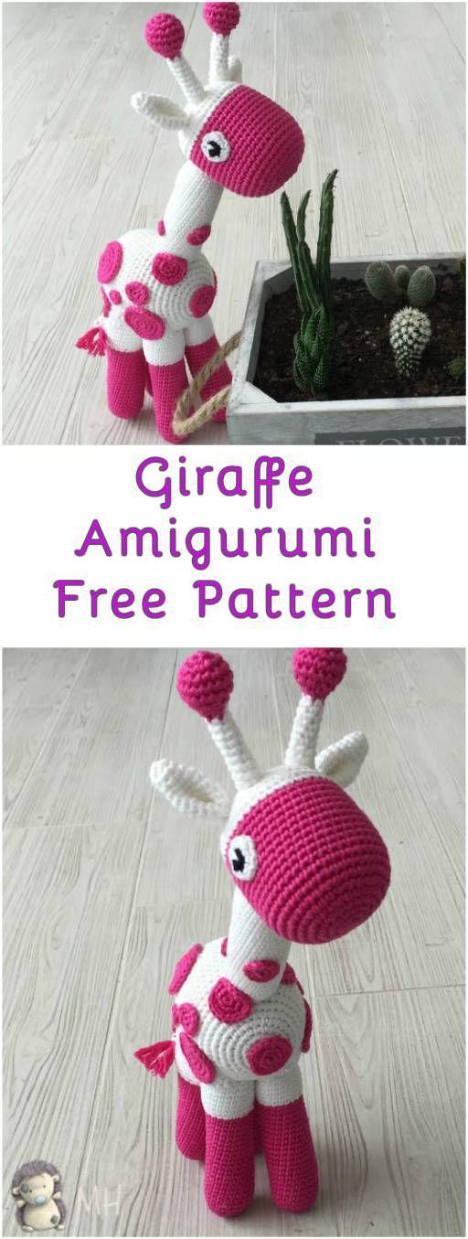 Giraffe Amigurumi – Free Pattern – Merideth