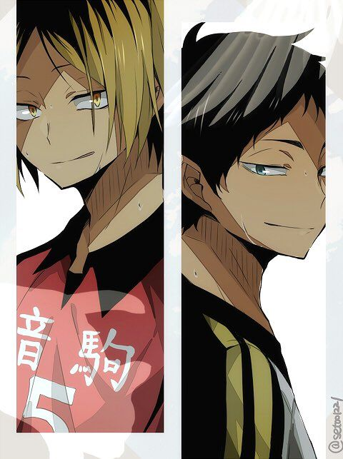 #kenma #akaashi #hq KYAA LOOK AT THOSE SMILES I'VE LIVED A GOOD LIFE OMG OMG AKAASHI AND KENMA'S SMILES I'LL WORSHIP THAT FROM NOW ON