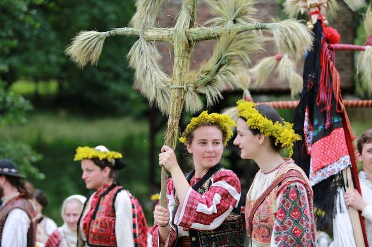 24 IUNIE 2014. ZIUA IEI la Sibiu. Sanzienele. Sf Ioan de Vara.