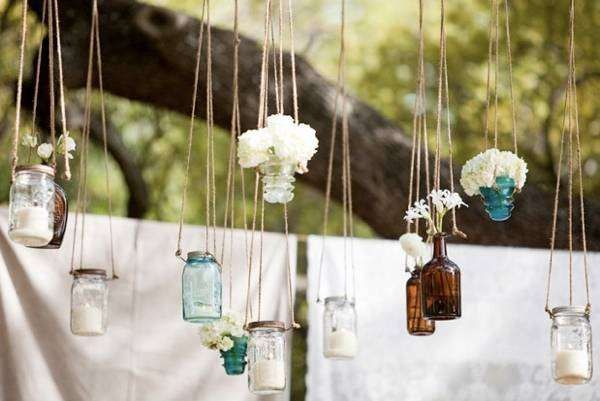 Bodas campestres: fotos ideas decoración - Ideas decorativas para boda campestre