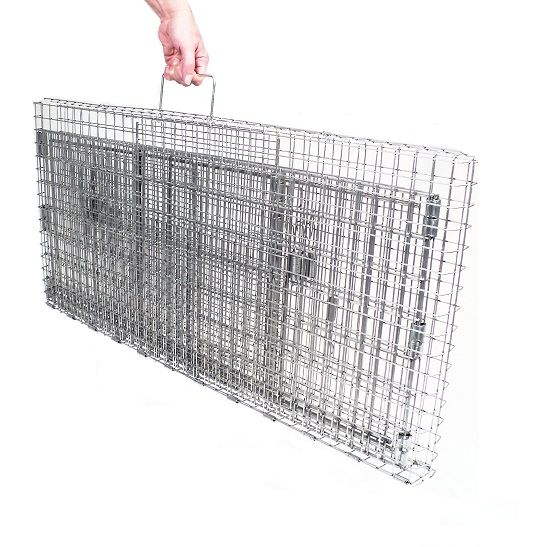 Traps :: Feral Cat Traps & Accessories :: Cat Trap Kits - Bundle and Save :: KITDT1 - Neighborhood Cats Drop Trap and Transfer Cage - Free Standard Shipping