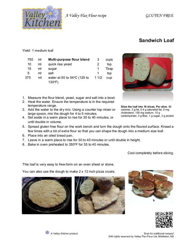 Bread using Valley Kitchen Multi-Purpose Flour Blend