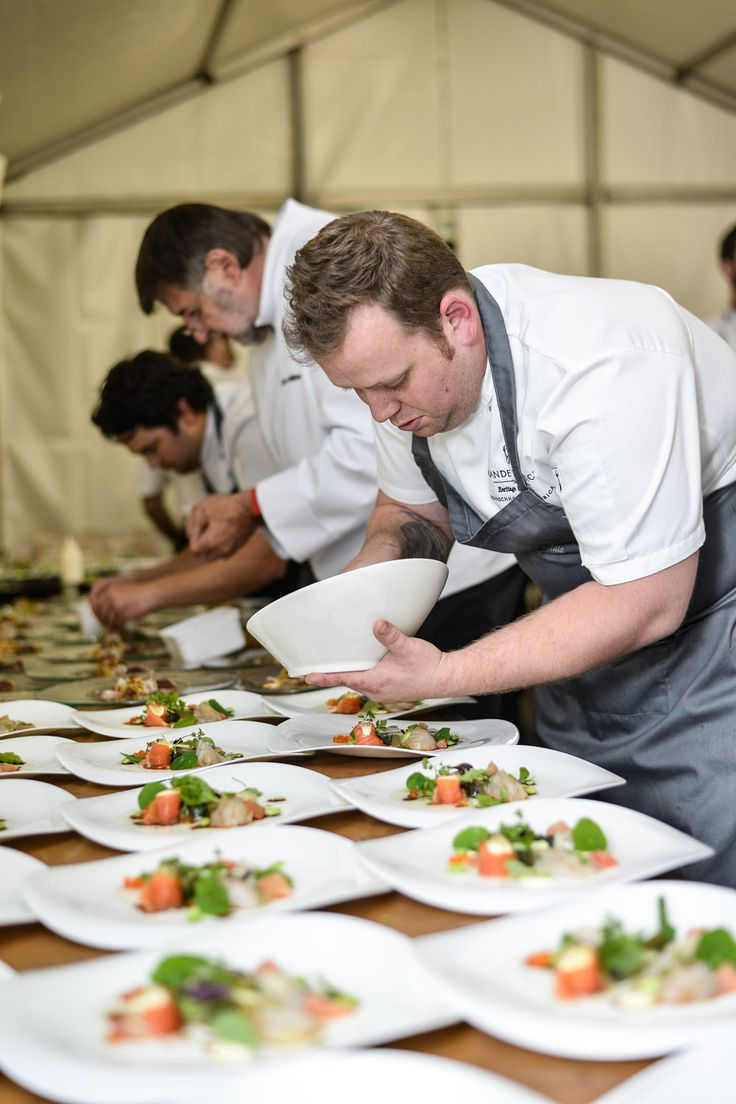 The chefs and much-awarded sommeliers formed seven teams of four, each team creating an exclusive menu of gourmet food and wine delights for just 36 guests per team.