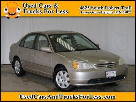 Used-Cars-For-Sale-Minneapolis | 2002 Honda Civic EX | http://minneapoliscarsforsale.com/dealership-car/2002-honda-civic-ex