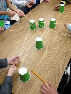Activity For Group To Make A Paper Cup Pyramid Team