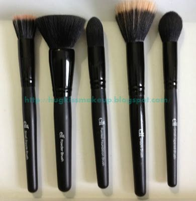 Best of ELF brushes and an explanation of   what each brush is for! Click for blog post.