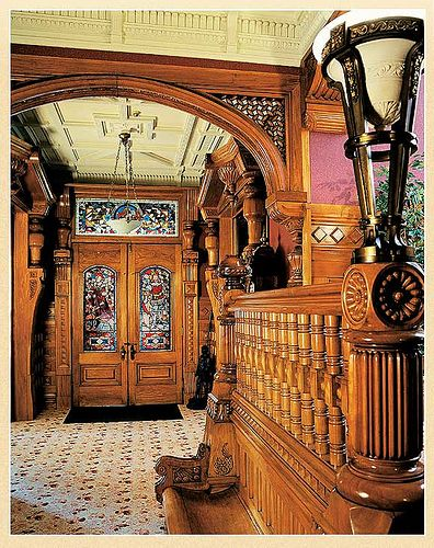 Inside The William Carson Mansion | Constructing Compound Trim And Woodwork  | Old House Web Blog