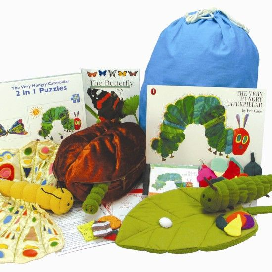 The Very Hungry Caterpillar.... One of the best stories ever written for young children to understand sequencing and life cycles