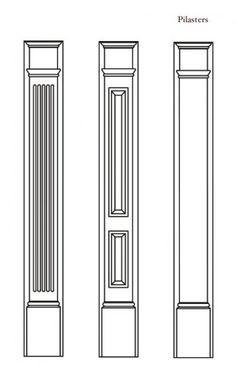 door surrounds pvc composite pilaster pictures - Google Search