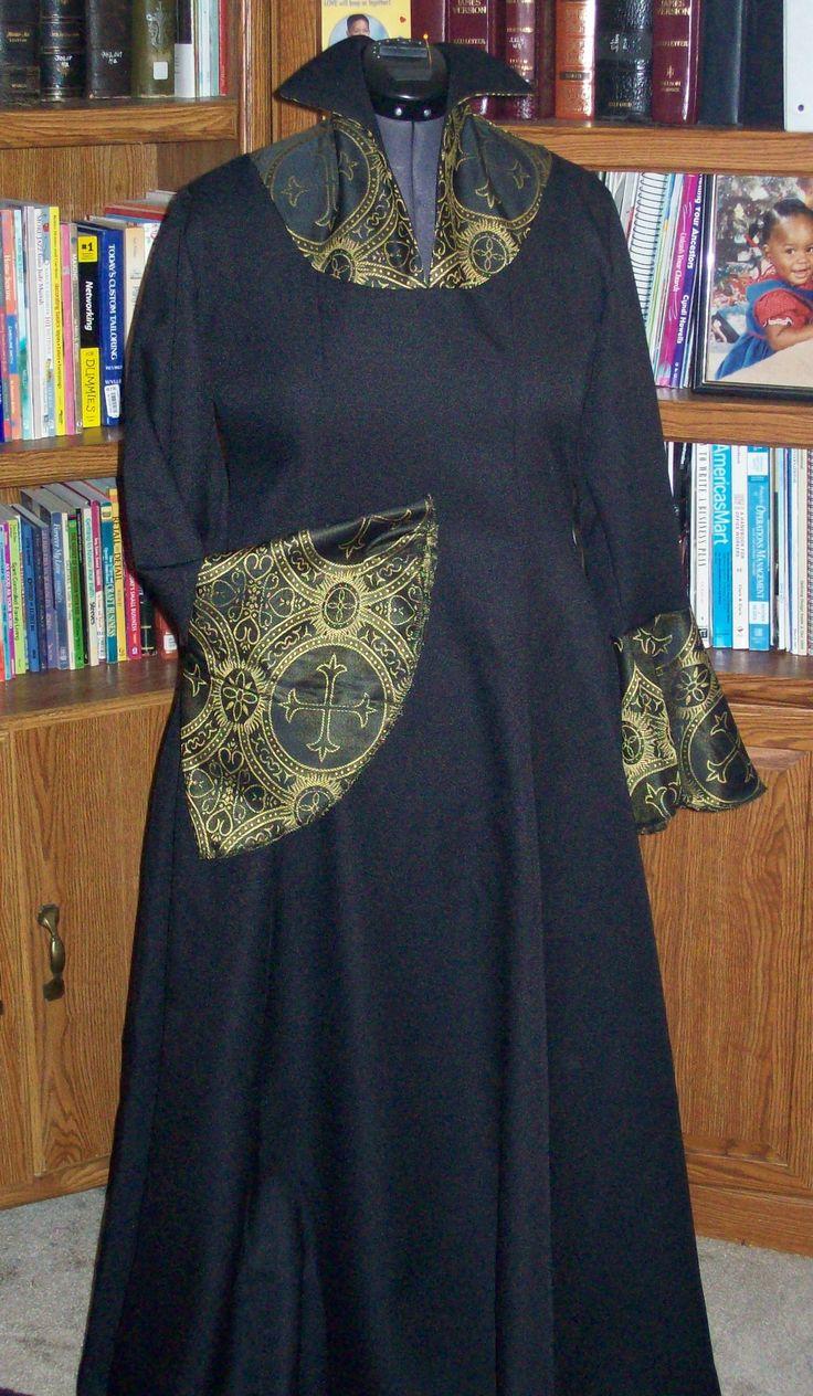 31 best Clergy Robes designs images on Pinterest   Apostolic fashion ...