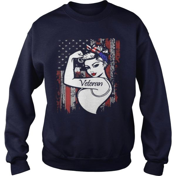 Strong Woman Veteran Flag Us Shirt Trend Photos Birthday Graphictee Fish