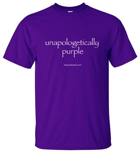 Purple Shirt - Unapologetically Purple - $14.10 - $22.95 at The Purple Store