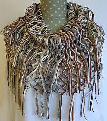 Fraas Scarf Knit Loop Taupe www.dreamweavergifts.ca