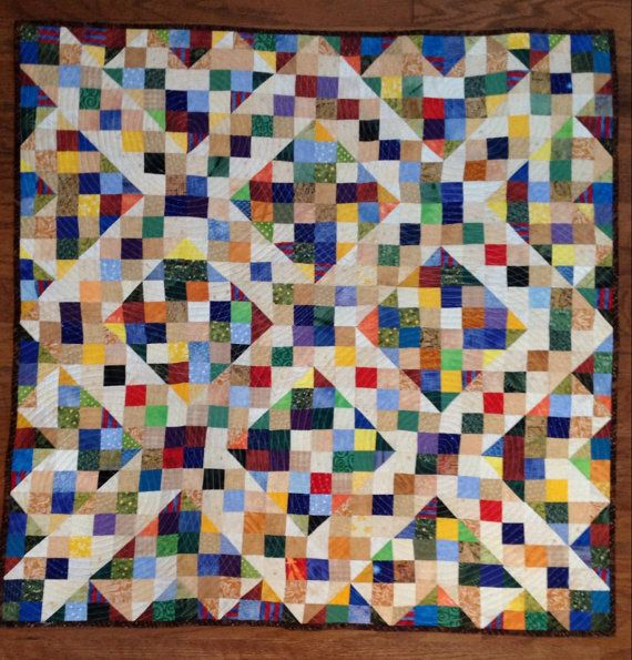 Free Quilt Pattern For Jacob S Ladder : 42 Best images about Jacobs Ladder Quilts on Pinterest Quilt, Mondays and Stitches