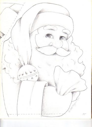 I still have my painting of this Santa.