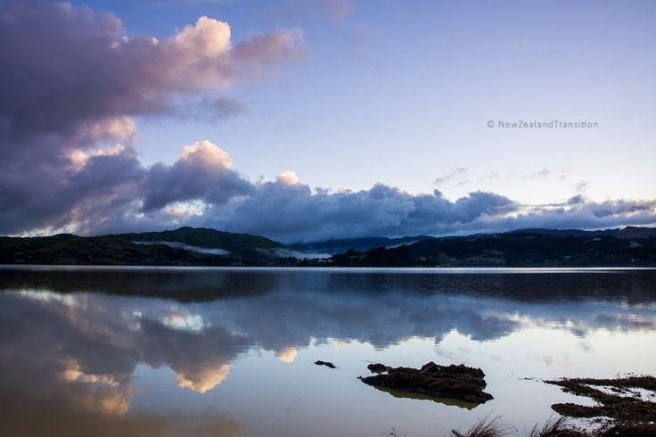 Pauatahanui inlet morning reflection
