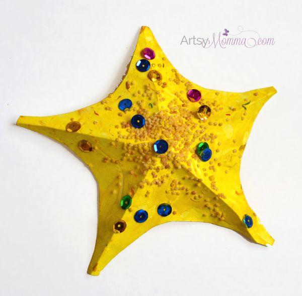 Kids Starfish Craft and Template