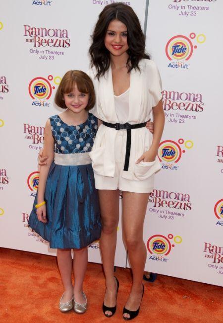 Selena Gomez at the Ramona and Beezus premiere