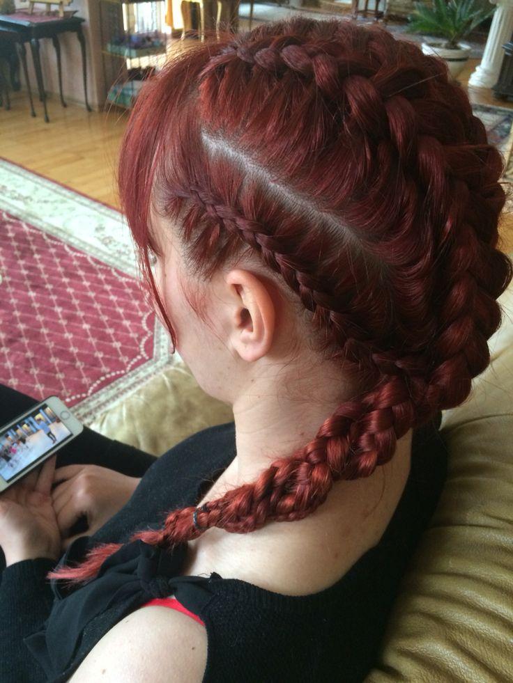 #braids#redhead#longhair
