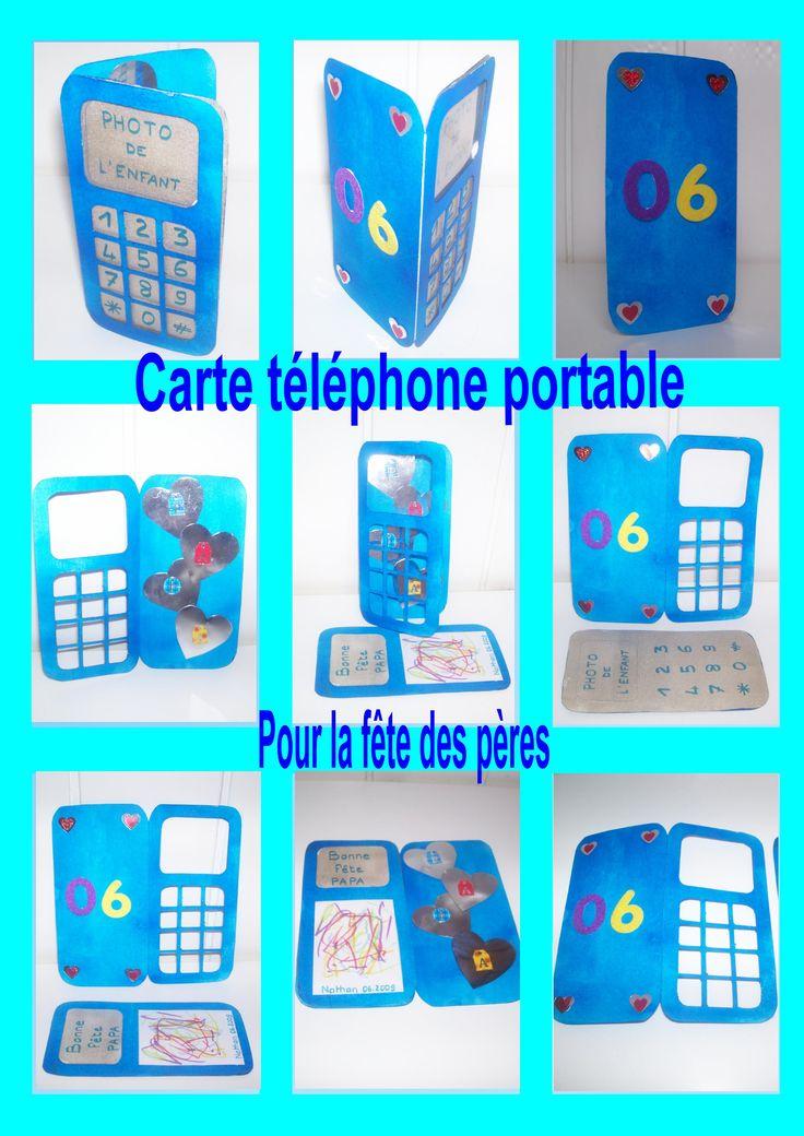 Une carte téléphone portable
