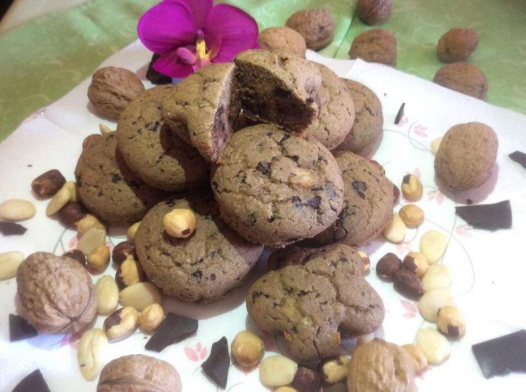 Cupcakes al cioccolato e nocciole. Davvero golosi