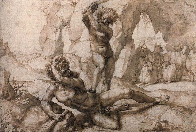 Ο Ηρακλής σκοτώνει τον Κάκο (1520ς)
