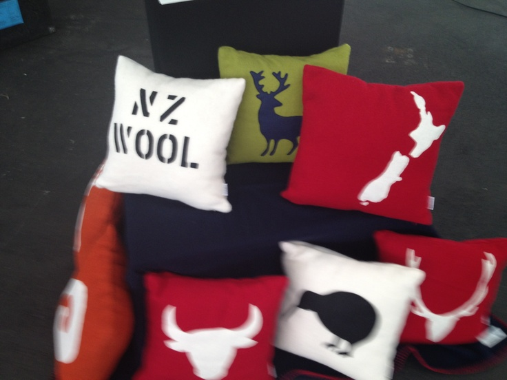 100% Made and grown in New Zealand wool cushions.  Inners made of 100% Southdown…