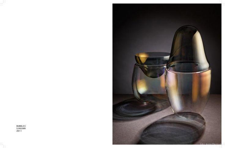 design, glass, art, Umprum, Krisýna Pojerová