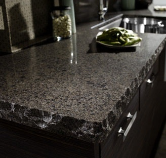 Love The Chiseled Edge On This Cambria Quartz Countertop. So Cool In A Bar  Area