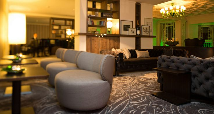 The common areas (such as lobby, bar and lounge ) of the Steigenberger Grandhotel Belvédère have been renovated by us! © JOI-Design