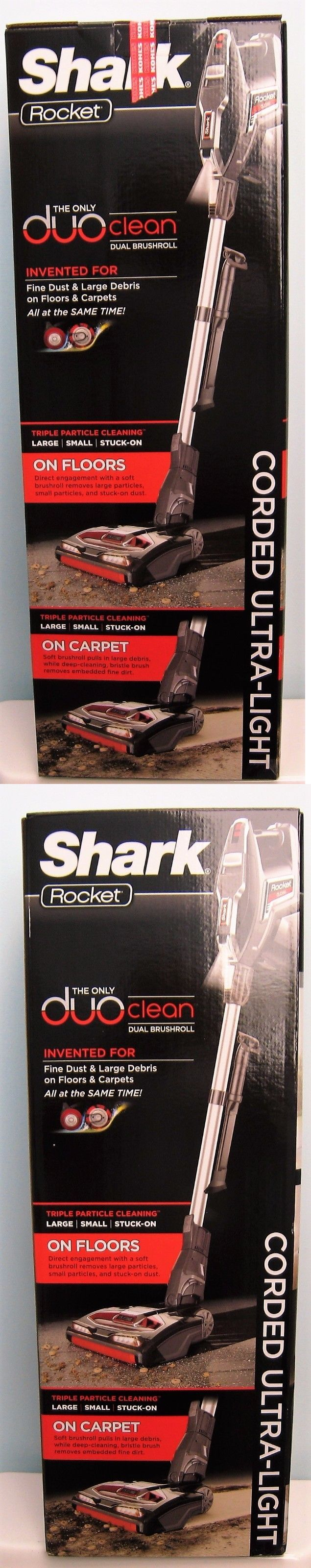 Vacuum Cleaners 20614: Shark Rocket Duoclean Hv382 Ultra-Light Vacuum , New In Box -> BUY IT NOW ONLY: $234 on eBay!