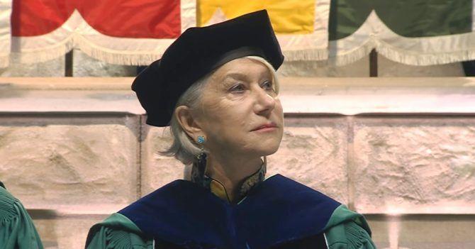 Леди Хелен Миррен: «Не ставьте горячие чашки на деревянную поверхность, не путайте секс и любовь и не ныряйте в воду, не зная, насколько там глубоко»