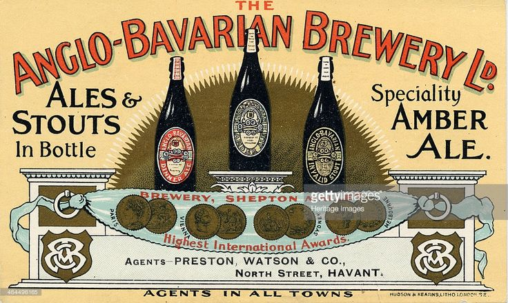 Anglo-Bavarian Brewery, Shepton Mallet, Somerset, c.1890-1900.