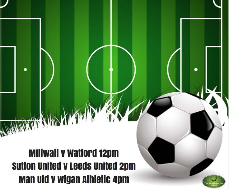 Live FA Cup action at the Woody today! :-) Millwall v Watford Kick Off: 12pm Sutton United v Leeds United Kick Off: 2pm Man Utd v Wigan Athletic Kick Off: 4pm Come in and join us for all the action..#thewoodmaninn #forestofdean #football www.thewoodmanparkend.co.uk