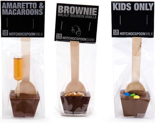 Hotchocspoons (good gift idea to buy/make): http://www.chocolatecompany.nl/NL/home