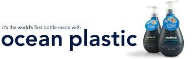 Method Soap and the Ocean Plastic Pledge on http://www.5minutesformom.com