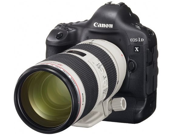 Canon EOS-1D X | New Flagship Professional DSLR Camera (with big mama lense)