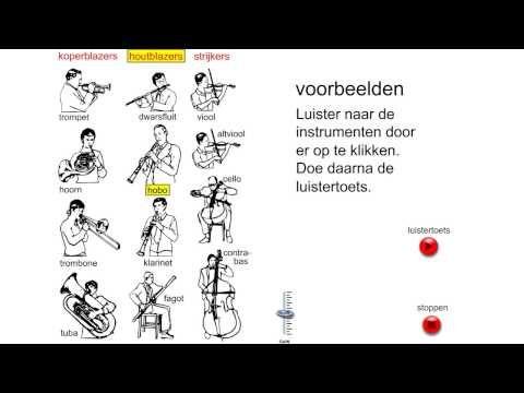 muziekinstrumenten beluisteren - YouTube
