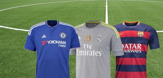Nieuwe voetbalseizoen is weer begonnen. Koop de nieuwste voetbalshirt van je favoriete voetbalclub.