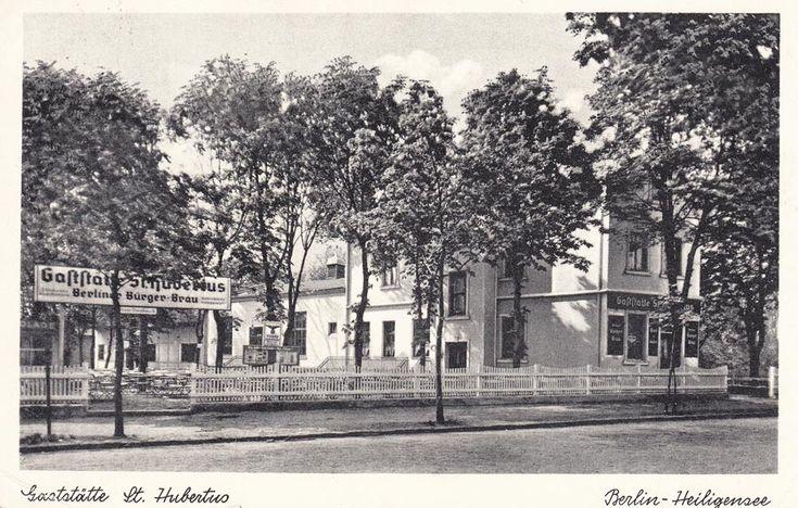 Gaststätte St. Hubertus, Berlin Heiligensee Um 1939