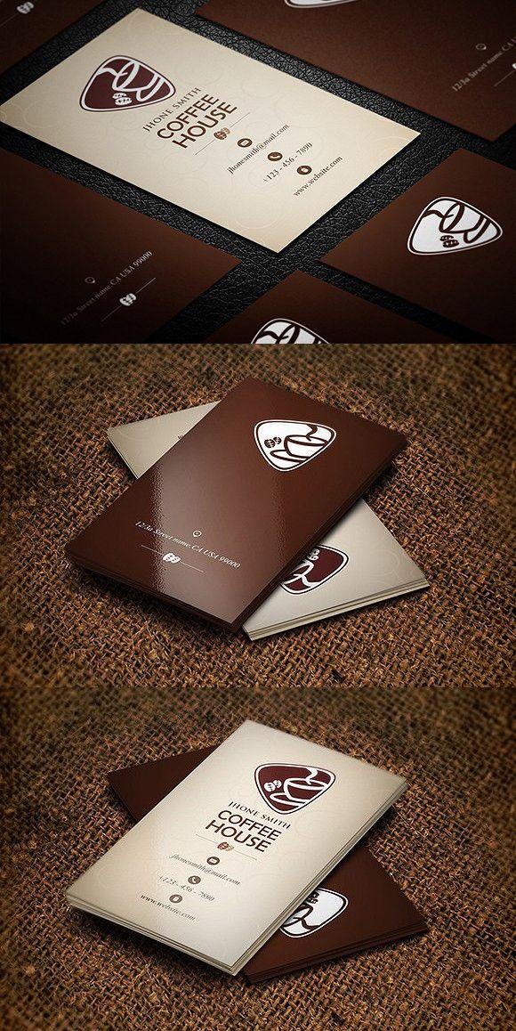 Carte De Visite Creative Coffee Business Card Designer Multiple