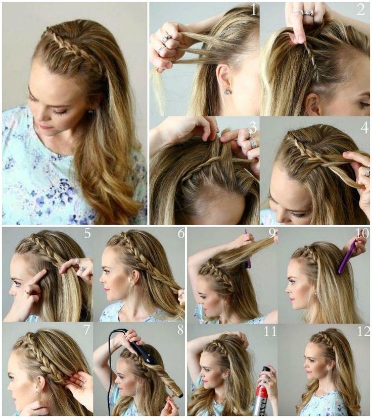 Frisuren Frauen Lange Haare Selber Machen