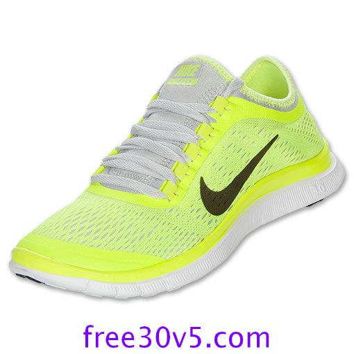 50% Off Nike Shoes Sale,Nike Free 3.0 V5 Womens Volt Anthracite Pure  Platinum